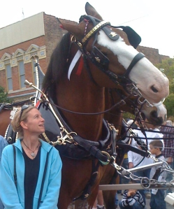 Gina w-Clydesdale