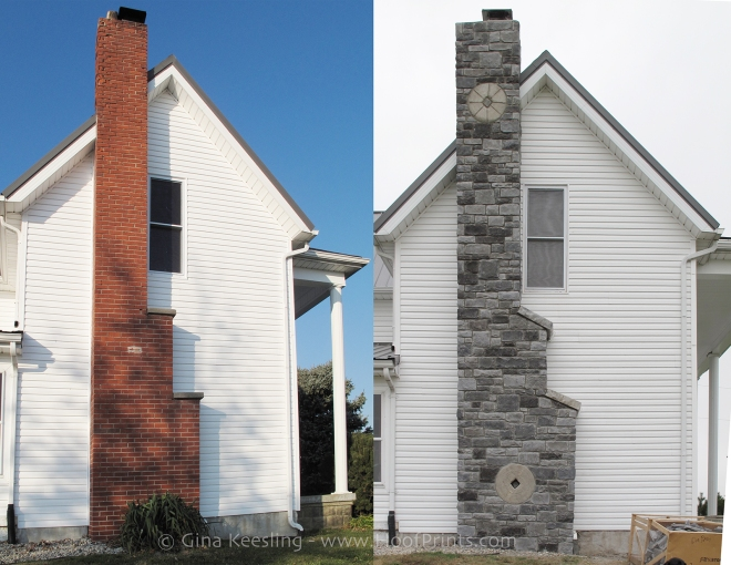Chimney before and afterFB