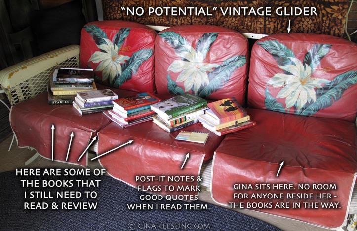Vintage glider w-books1200w